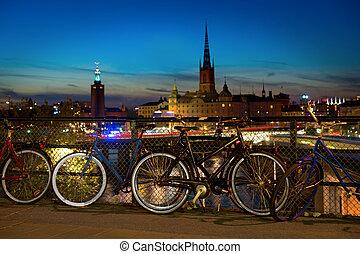 bicicletas, estocolmo