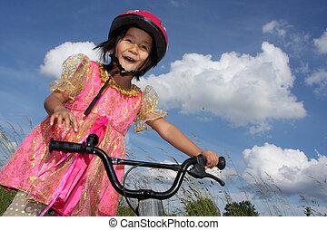 bicicletta, bambino
