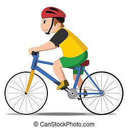 bicicletta, capretto