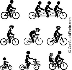 bicicletta, tipi