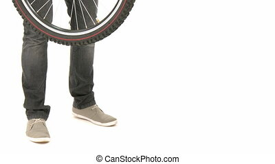 Bicicletta, uomo