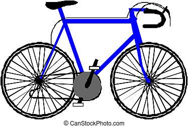 bicikli, ábra