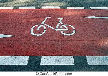 bicikli, út