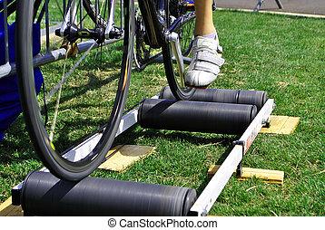 bicikli, útvonal