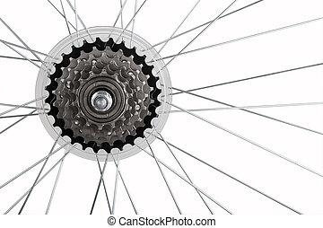 bicikli bekapcsol, állhatatos