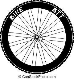bicikli, btt, gördít