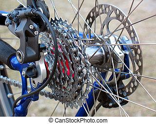 bicikli, fogaskerék-áttétel