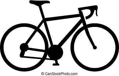 bicikli fut, ikon