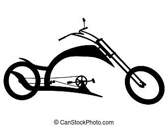 bicikli, helyett, biciklista, három