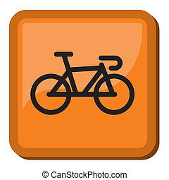 bicikli, ikon, -, bicikli, ikon
