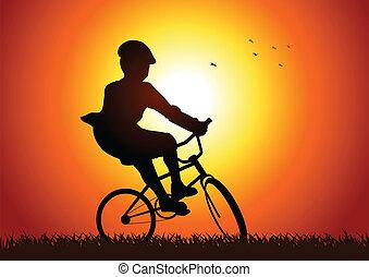 bicikli, játék