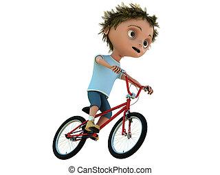 bicikli, kölyök