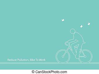 bicikli, munka