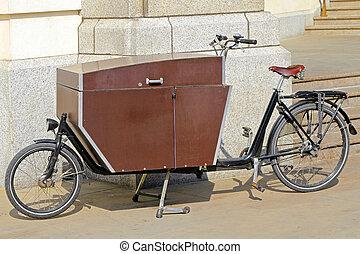 bicikli, szállít