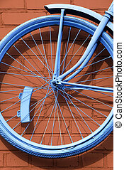 Bicycle Abstract
