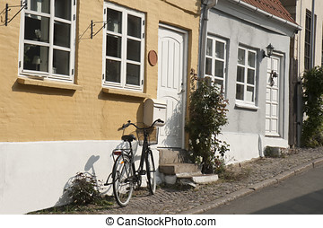 Bicycle Against the Wall