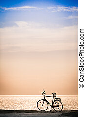 Bicycle at the Coast