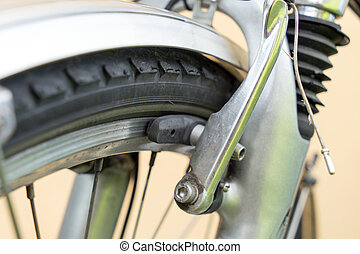 Bicycle - Brake on a bicycle