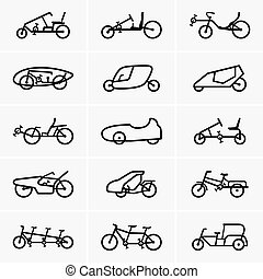 Bicycle cars
