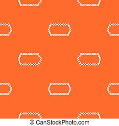 Bicycle chain pattern seamless