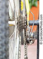 Bicycle chain.