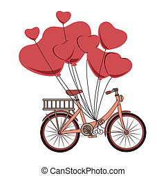 bicycle design - bicycle design over white background vector...