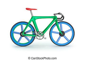 bicycle., eigen, mijn, straat, design.
