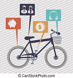 bicycle grunge