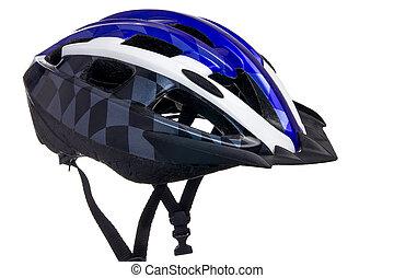 Bicycle helmet with visor