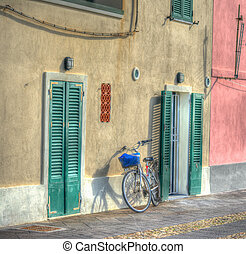 bicycle in Alghero seafront