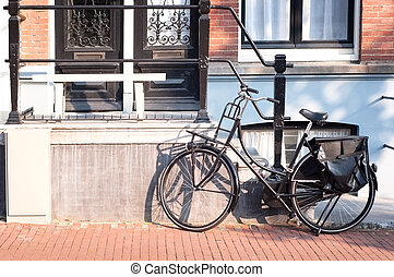 Bicycle in Amsterdam Netherlands