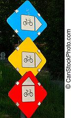 Bicycle lane no.1