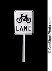 Bicycle Lane Traffic Sign - Australian Road Sign