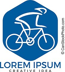 Bicycle Logo Design. - Cycle Sport Identity.