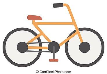 bicycle., nieuw, classieke
