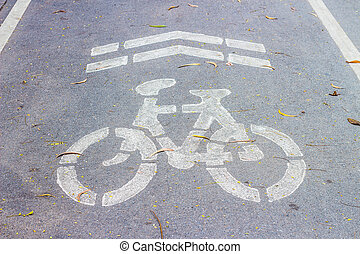 bicycle path