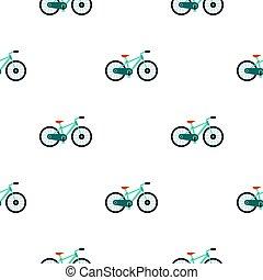 Bicycle pattern flat