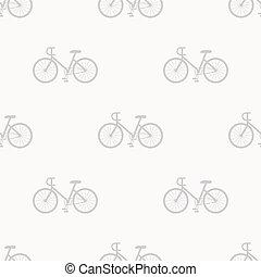 Bicycle pattern seamless