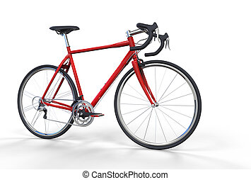 Bicycle Red 3