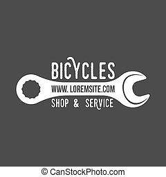 bicycle retro badge