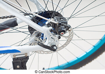 Bicycle transmission - Bicycles Rear Drive System - closeup...