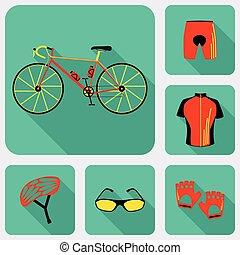 Bicycle uniform