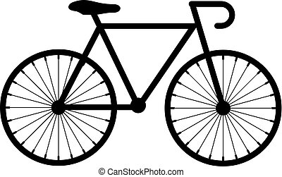 Bicycle vector icon