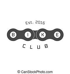 Bicycle vector label, logo