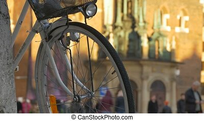 Bicycle Wheel with Lantern