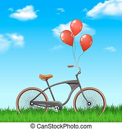 Bicycle With Balloons