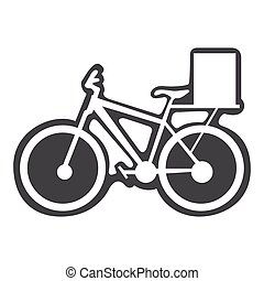 Bicycle with box