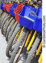 bicycles, σειρά
