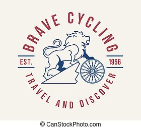 Bicycles brave cycling