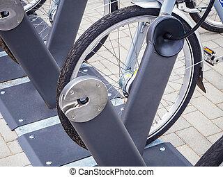 bicycles, huur, berlin, parkeren